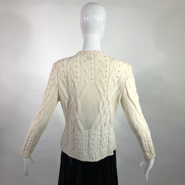 St. John Collection Marie Gray Sweater