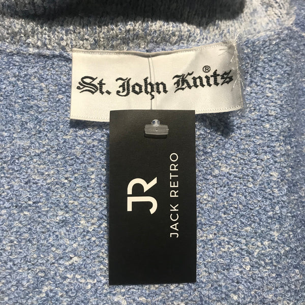70's St. John Knits Blue Jacket