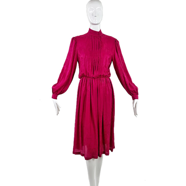 Neiman Marcus 70's Silk Dress