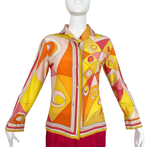 60's Pucci Blouse