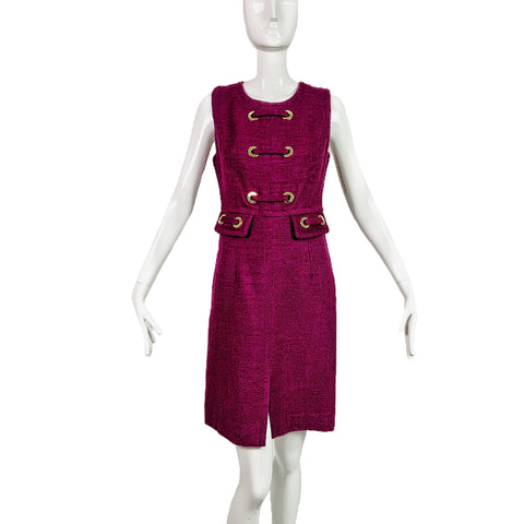 Milly N.Y Wool Purple Dress