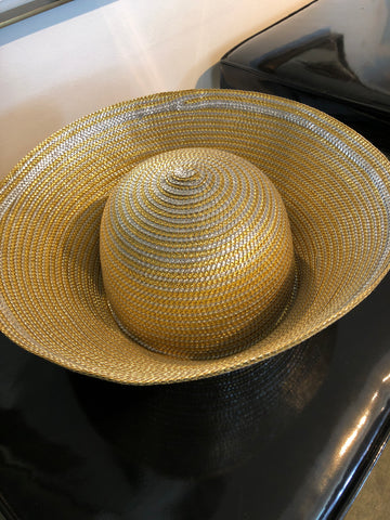 Gold Lame Hat