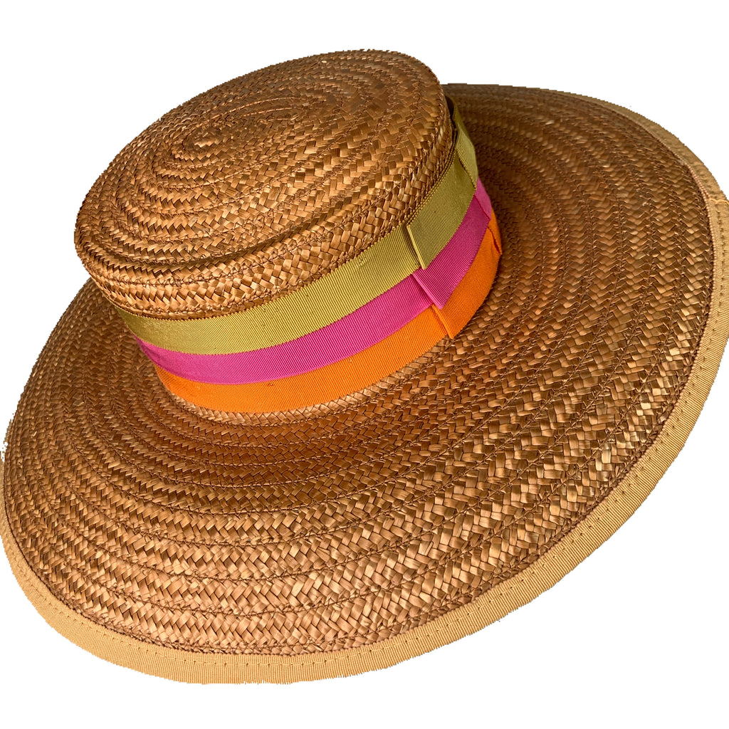 Yves Saint Laurent 60's Straw Hat