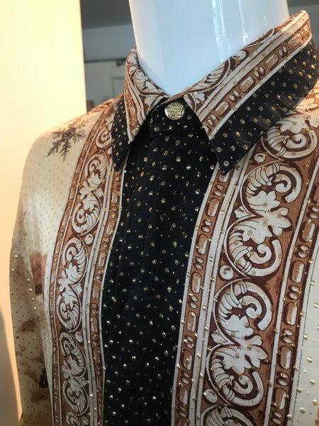 Seta Per Uomo Silk Mens Shirt
