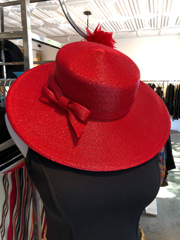 70's Frank Olive Red Hat
