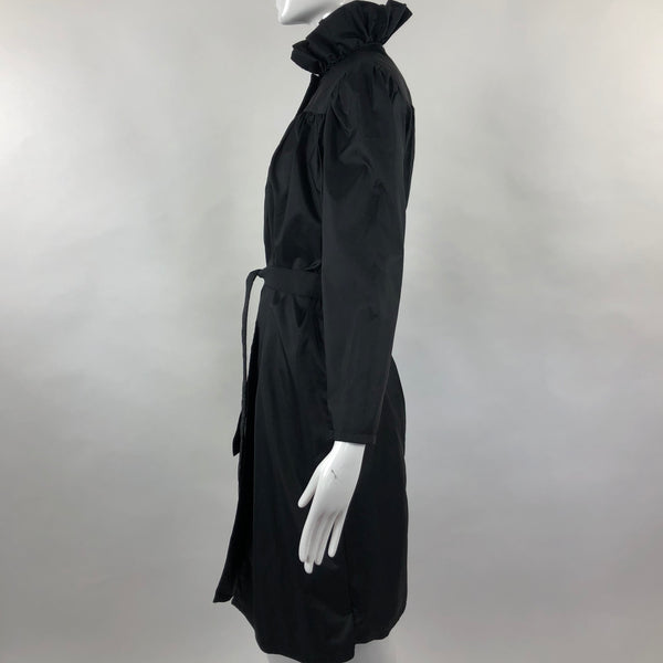 80's Neiman Marcus Windbreaker Black Coat