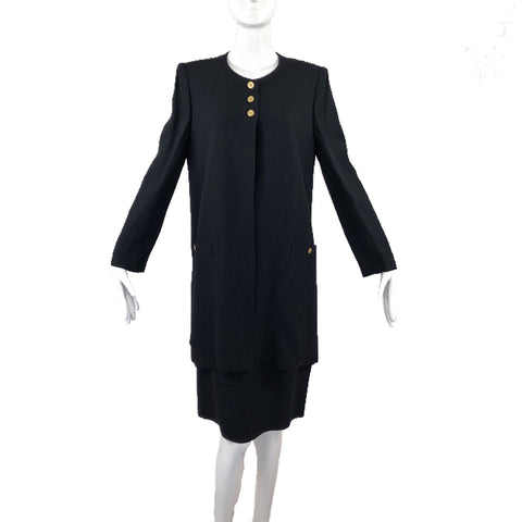 Sonia Rykiel Black Skirt Suit