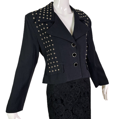 Times Seven Todd Oldham Studded Jacket
