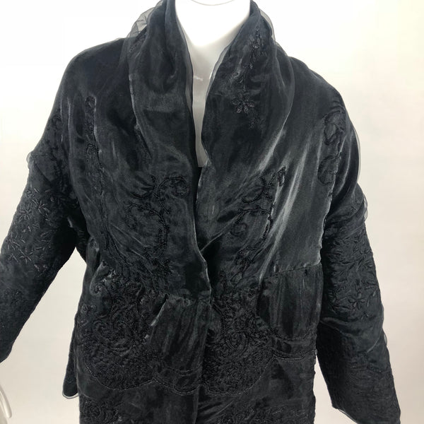 Shamask Black Sparkle Jacket