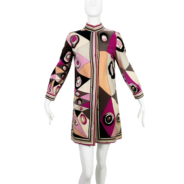 60's Pucci Coat Dress