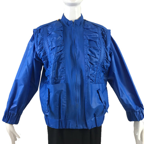 Antonio Ruspoli 80's Blue Jacket