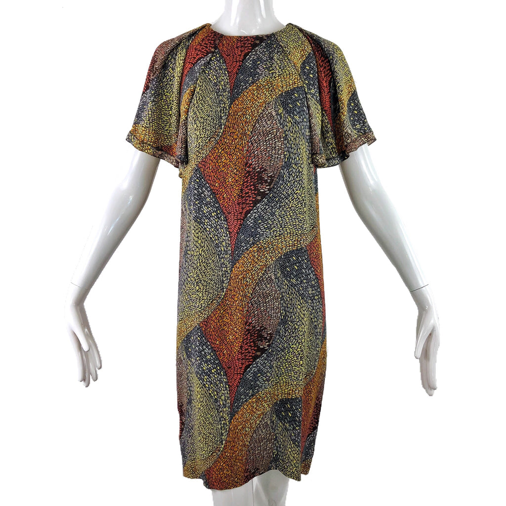 Missoni 90's Silk Print Dress