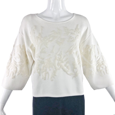 Tibi New York Ivory Top