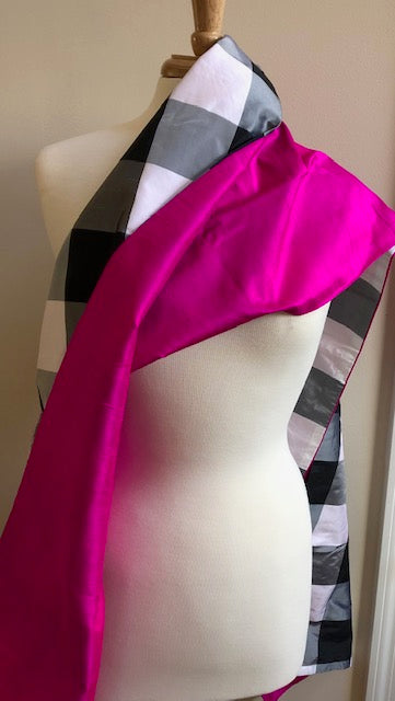 Reversable 100% Silk Dupioni Wraps