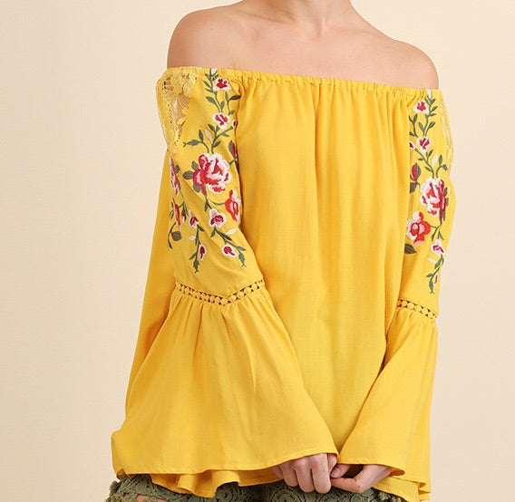 Honey Bell Sleeve Top (Top Seller)