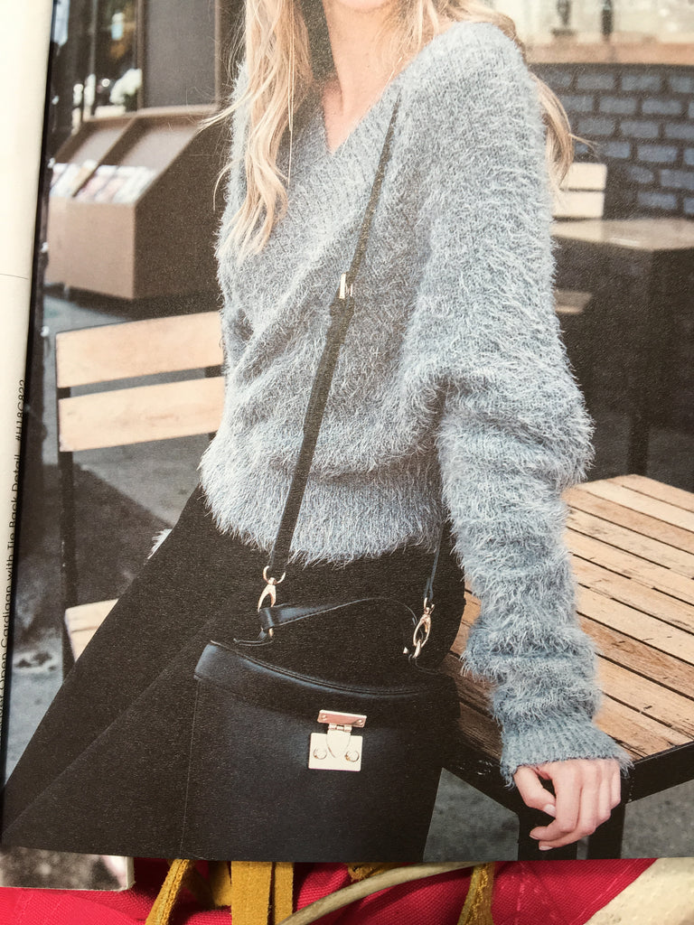 Grey Shaggy Sweater