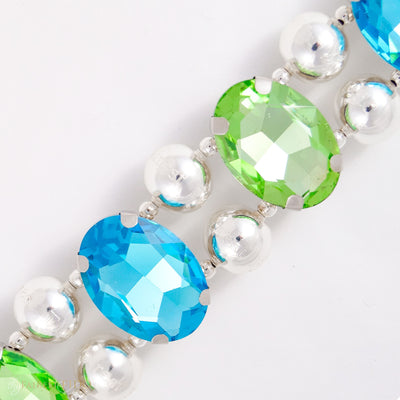 Eternal_Gems_Two_row_woven_aqua_peridot_glass_crystals_with_signature_silver_beads_size_3_Thy_Fairest_Fido