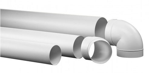 125mm round rigid ducting
