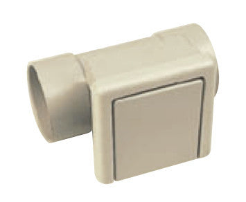 In-line utility socket for 2-inch pipe