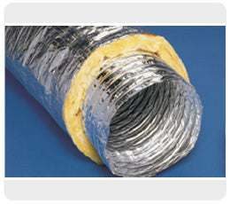 200mm insulated flexible duct
