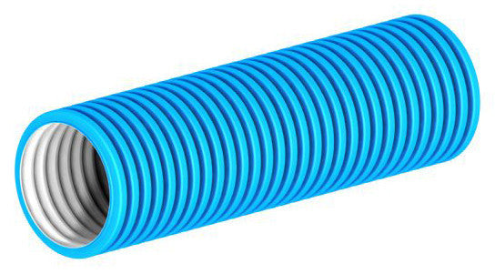 Semi Rigid Ducting 75o.d -blue