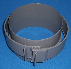 Connector for 180mm ins. ducting