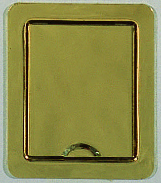 Designer socket, brass