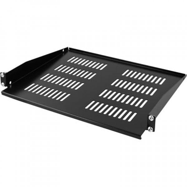 "19"" 1U Rack Mount Shelf depth=350mm (WxDxH) 483x350x44mm - Rack Sellers"