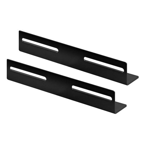 L-Bracket, 2 pieces, suitable for 450mm deep server and patch cabinets