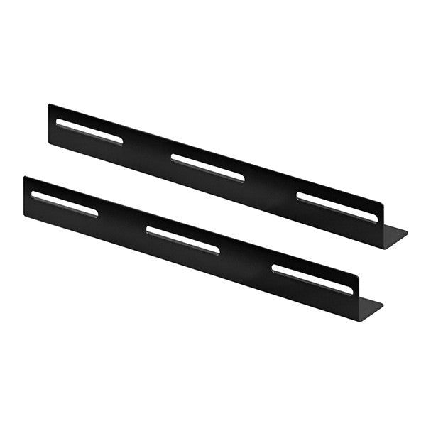 L-Bracket, 2 pieces, suitable for 600mm deep server and patch cabinets