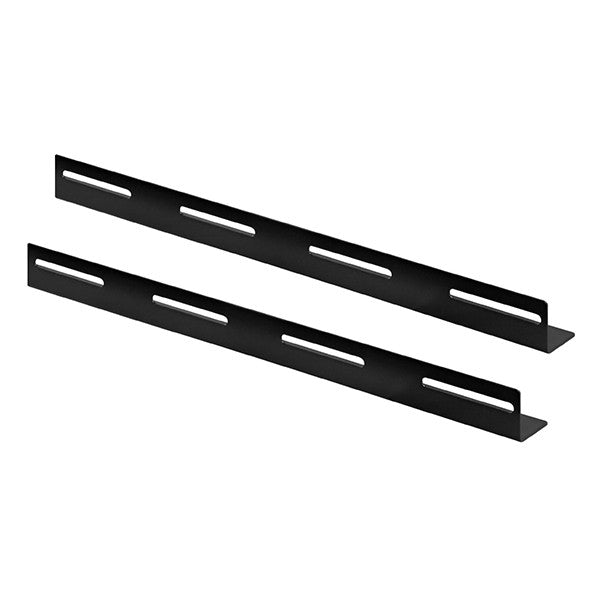 L-Bracket, 2 pieces, suitable for 800mm deep server and patch cabinets