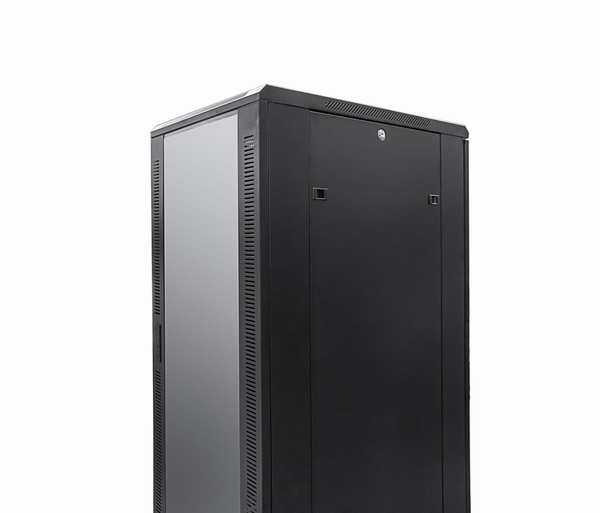27U 19 inch Floor Standing N Series Network Server Data Cabinet Enclosure Rack (WxDxH) 600x600x1400mm - Rack Sellers