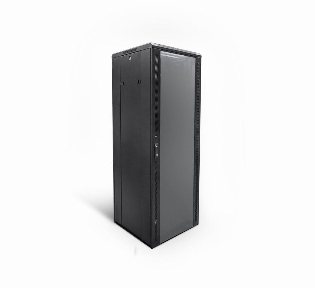 42U 19 inch Floor Standing N Series Network Server Data Cabinet Enclosure Rack (WxDxH) 600x600x2050mm