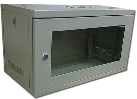 6U 19 inch Wall Mount N Series Network  Data Cabinet  Rack (WxDxH) 550x450x320mm - Grey