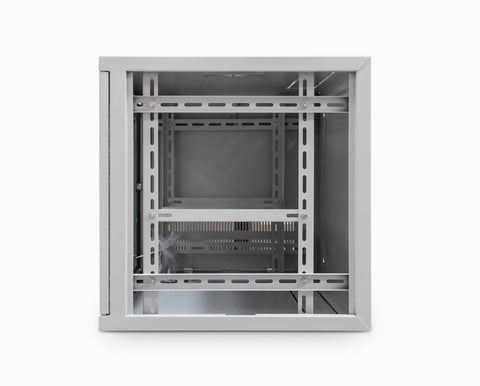 9U 19 inch Wall Mount N Series Network  Data Cabinet  Rack (WxDxH) 550x450x460mm - Grey
