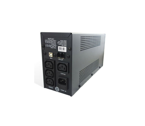 Intelligent 850VA Desktop UPS with USB & RJ11 Ports
