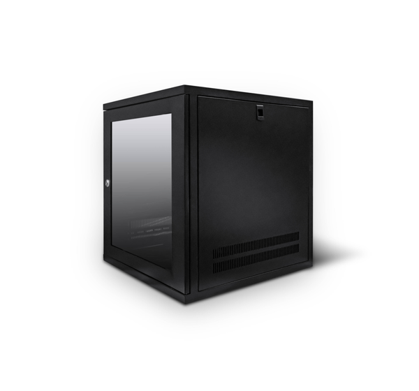 12U 19 inch Wall Mount N Series Network  Data Cabinet  Rack (WxDxH) 550x550x600mm - Rack Sellers