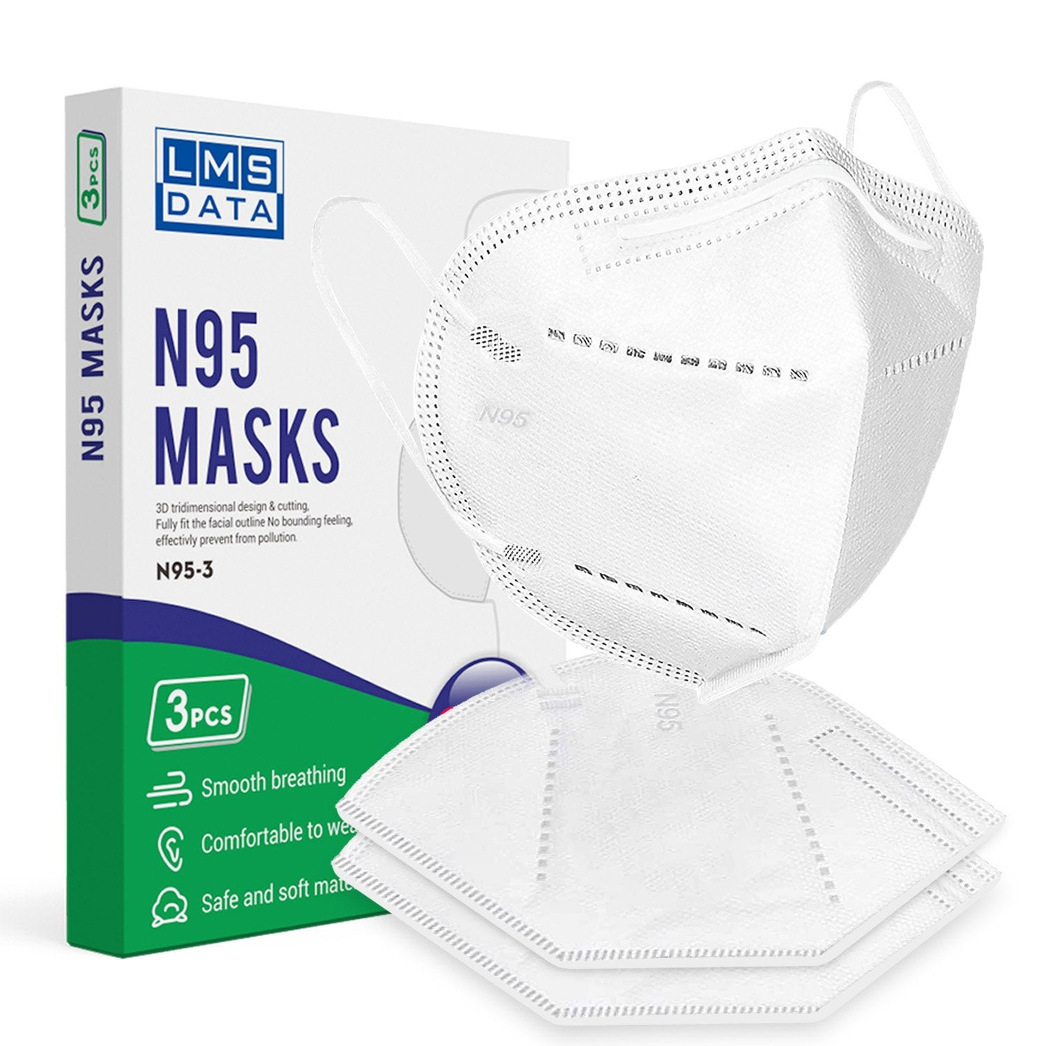N95 Mask (Box of 3)