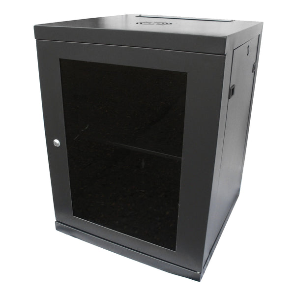 18U 19 inch Wall Mount N Series Network  Data Cabinet  Rack (WxDxH) 550x450x880mm - Rack Sellers