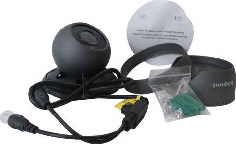 5MP/4MP 4in1 Grey Dome CCTV Camera - Fixed Lens