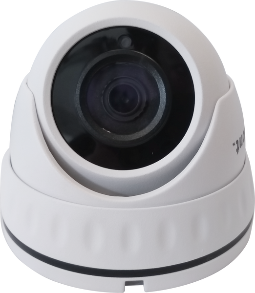 5MP/4MP 4in1 White Dome CCTV Camera