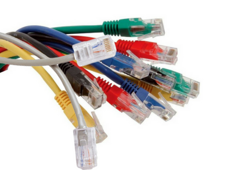 RJ45 UTP Enhanced Cat 5E Max Lead - 0.5M  (Pack of 12)