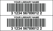 library bar code labels