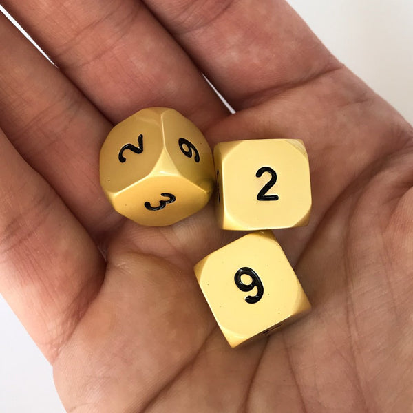 Cthulhu's Gold Dice D6 3 Pack