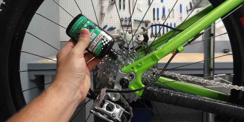 How often should I lube my chain?