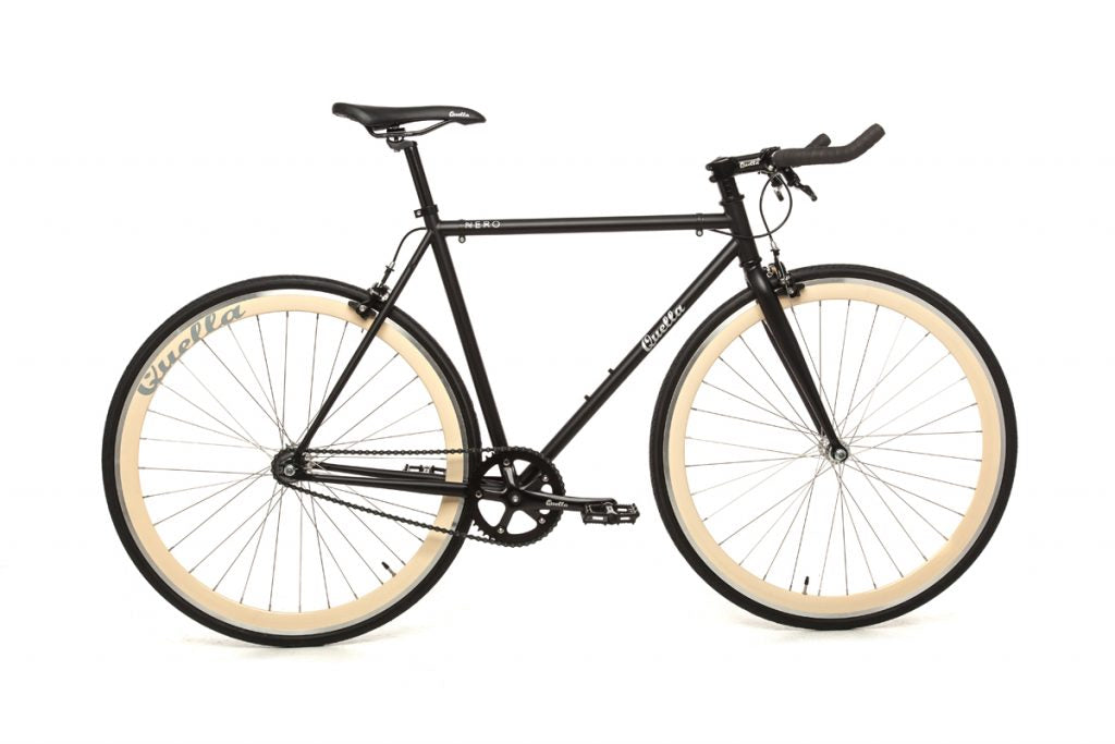 Quella Nero Singlespeed - Cream - Flag Bikes