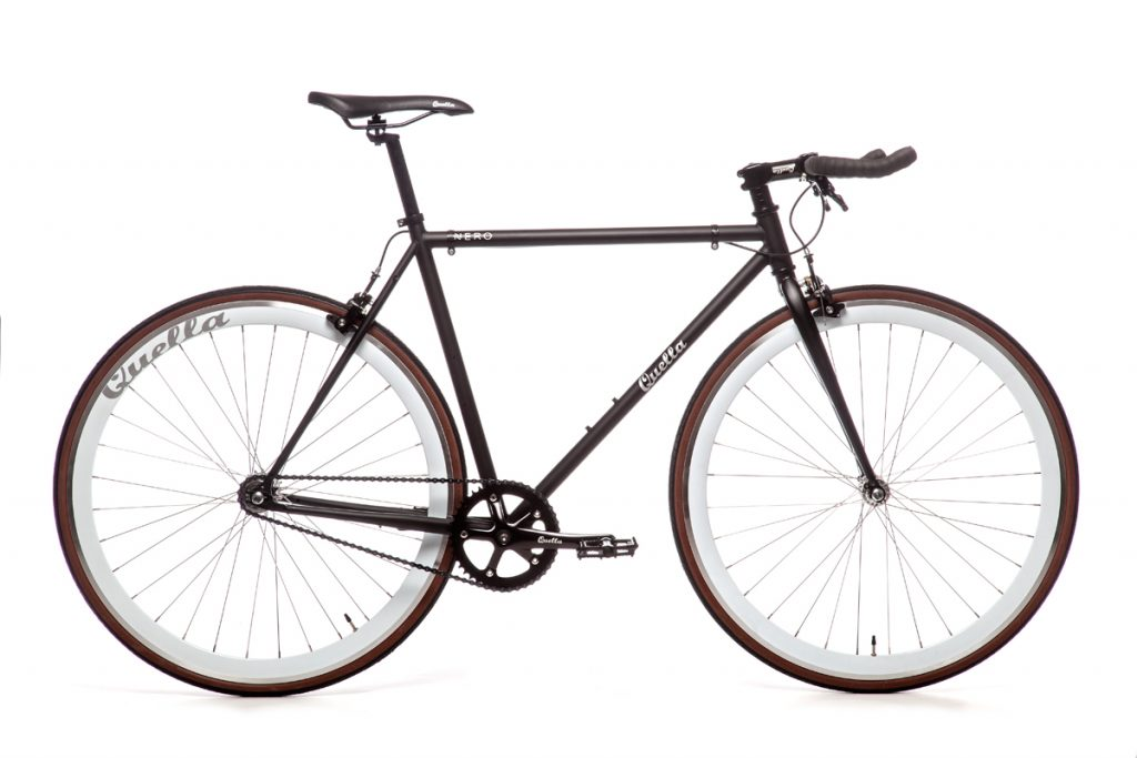 Quella Nero Singlespeed - White - Flag Bikes