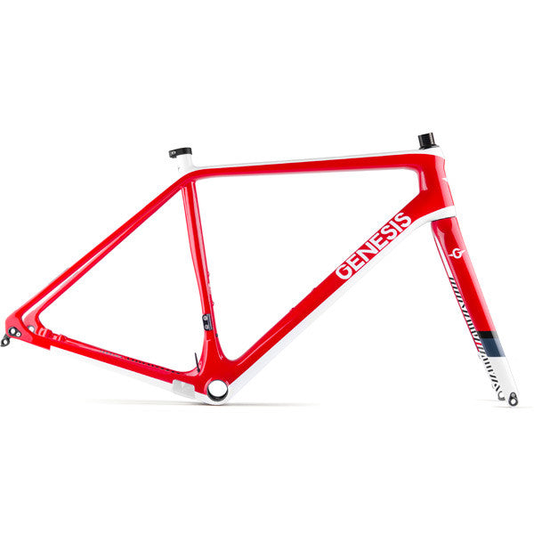 Genesis Vapour Carbon CX Frameset Red