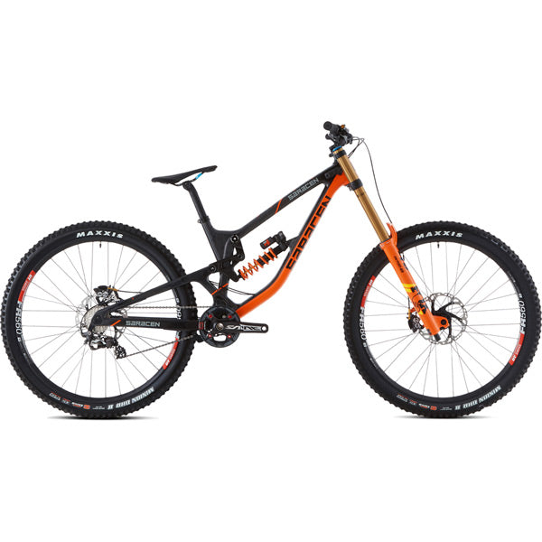 Saracen Team 27.5 Factory Long Bike 2019 - Flag Bikes
