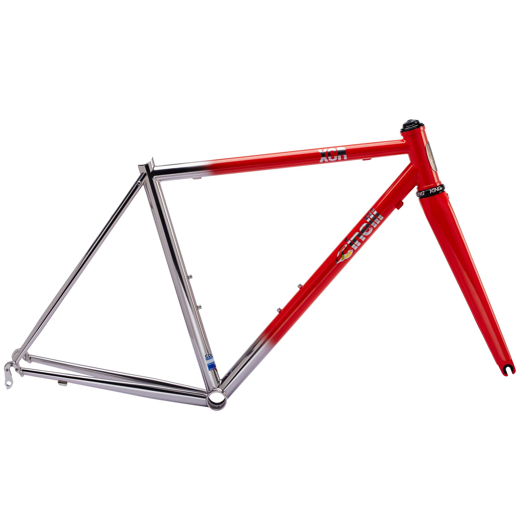 Cinelli XCR Red Frameset